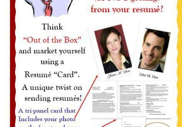 Nice! create a unique Resumé card for you on fiverr Resume - fiverr resume