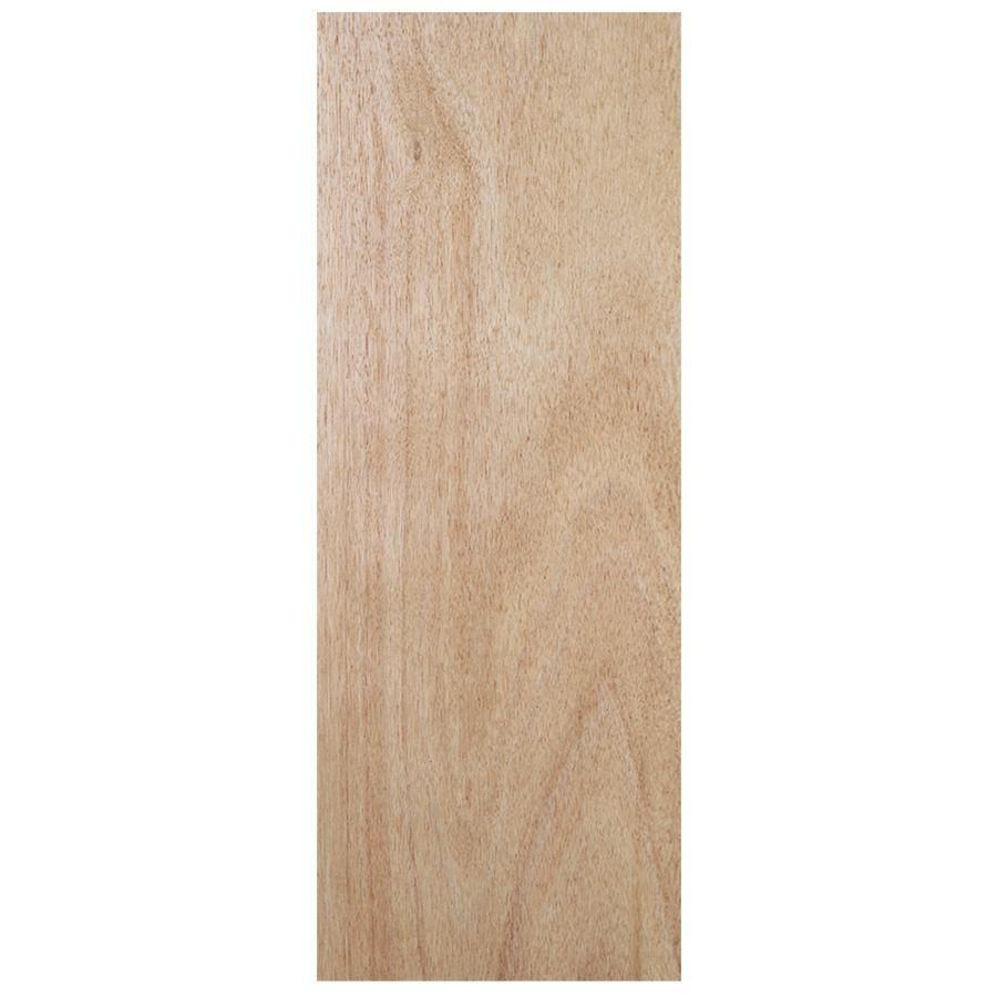 Jeld Wen Flush Solid Wood Core Lauan Unfinished Slab Entry Door