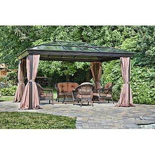 Gazebo Penguin 12 X14 Four Season Gazebo Patio Gazebo Patio Pergola