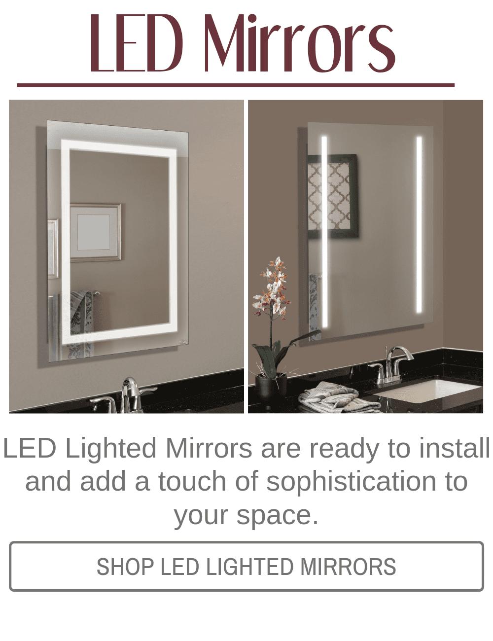 Custom Diy Bathroom Mirror Frame Kits