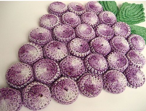 Crochet Leaves Patterns With Diagrams Free Hot Pad