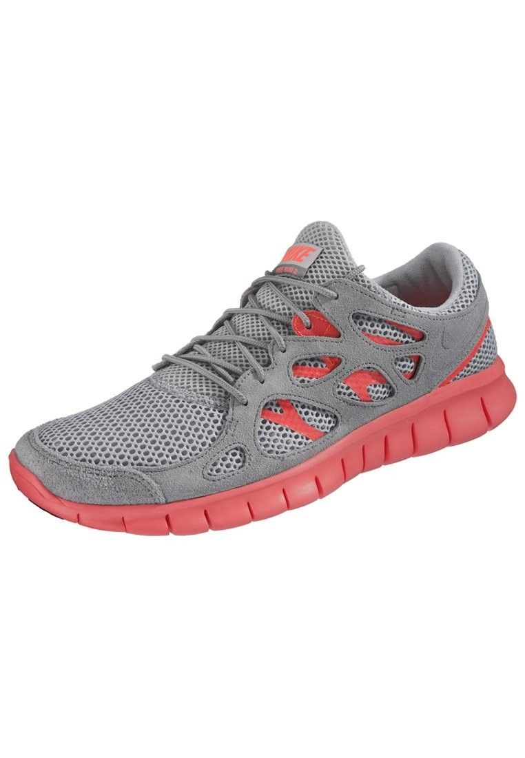 free shipping 6fe22 5893d S0a3e Man Nike Nike Free Run 2 Grey Orange Ext Slippers - Footwear HOT  SALE! HOT PRICE!