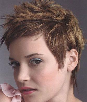 Girl Mohawkpixie Haircuti Really Need A Haircut My Pixie Is Way