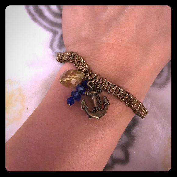 Anchor bracelet Bronze Anchor bracelet Jewelry Bracelets