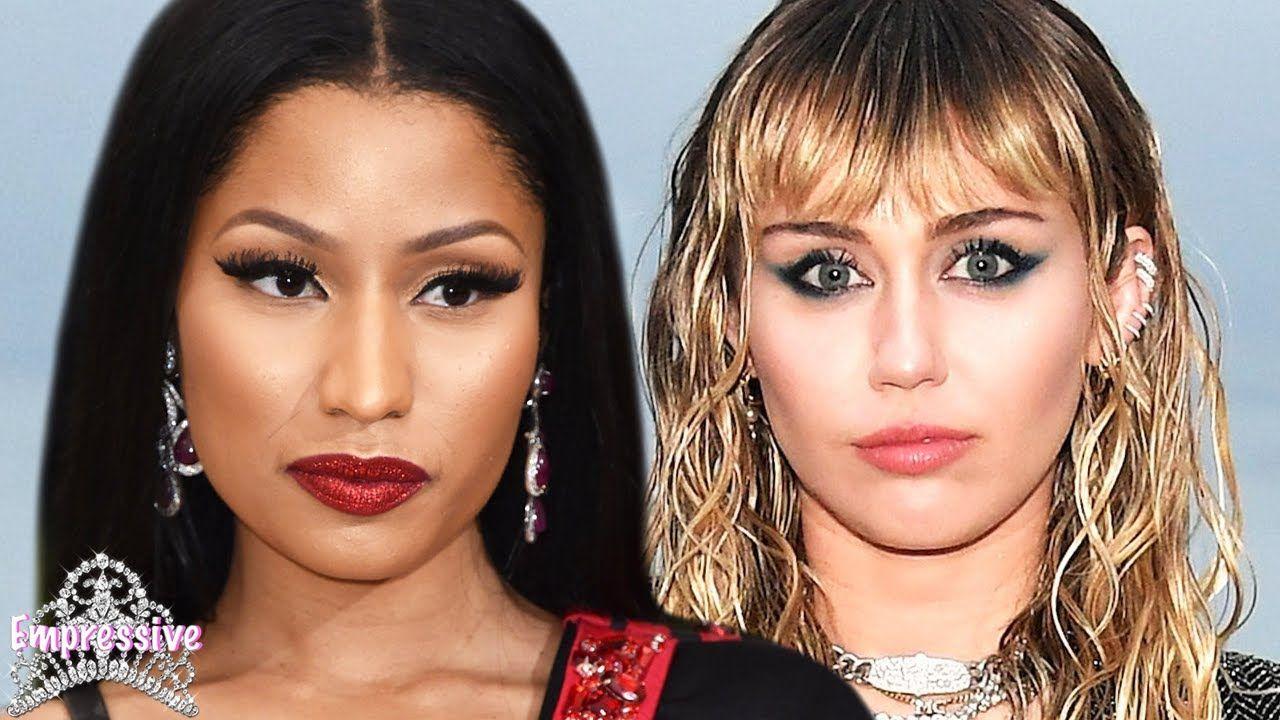 Nicki Minaj Was Allegedly Blacklisted Because Of Miley Cyrus Youtube Nicki Minaj Miley Miley Cyrus