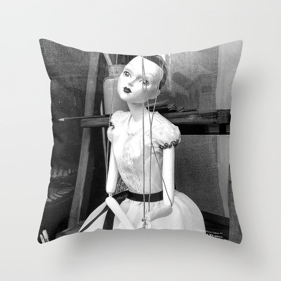 The hanged mistress Throw Pillow  ;) ARTIST FAN PAGE : www.facebook.com/... #StwayneKeubrick #Society6 #ThrowPillows #Deco #Home #HomeSweetHome #HomeDecor