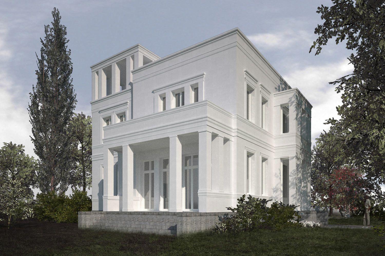 klassische neubauvillen in potsdam jungfernsee vogel cg architekten berlin klassische villa. Black Bedroom Furniture Sets. Home Design Ideas