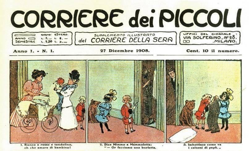 """Corriere dei Piccoli quando un """"giornalino"""" diede vita al"""