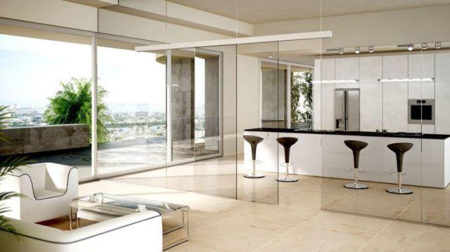 Como dividir ambientes de forma moderna y sofisticada for Separar cocina salon ideas