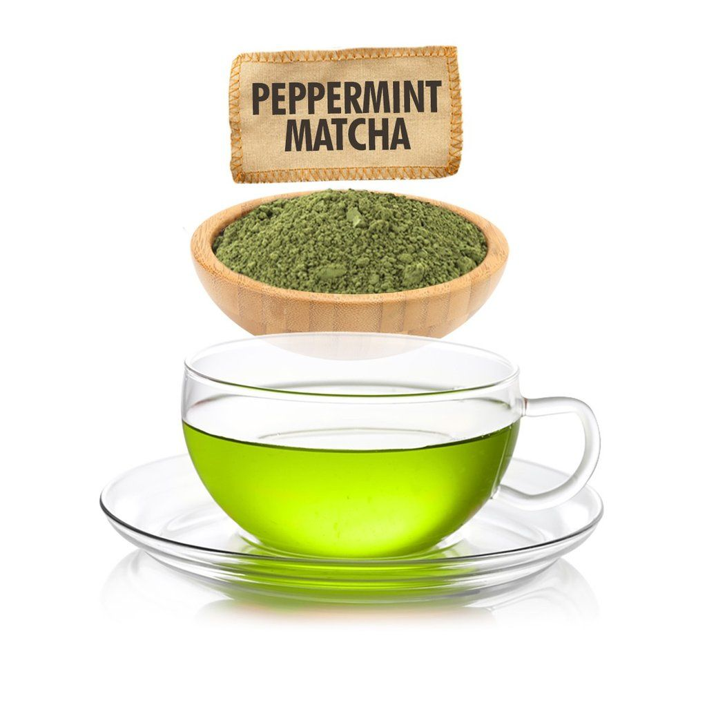 Photo of Peppermint Matcha Green Tea – Loose Leaf