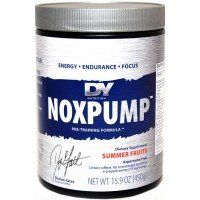 Nox Pump Muscle Growth Supplement Container Pumps