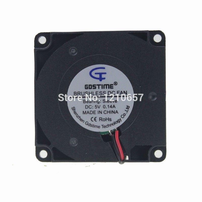 2pcs Lot Gdstime 5v 2pin 4cm 40mm X 10mm Mini Dc Brushless Turbine