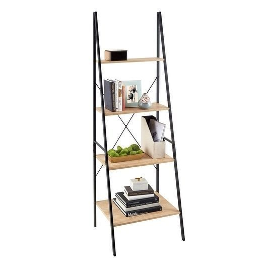 ClosetMaid Industrial Ladder Bookshelf