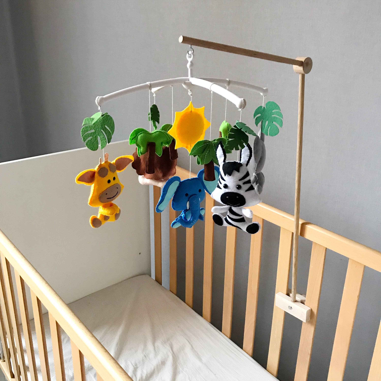 Ready 2 Ship Natural Mobile Holder Wooden Mobile Hanger Etsy In 2020 Wooden Baby Mobile Mobile Hanger Baby Mobile Holder