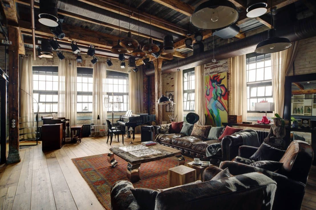 7 einrichtungstipps für einen coolen industrial style | interior ... - Wohnzimmer Industrial Style