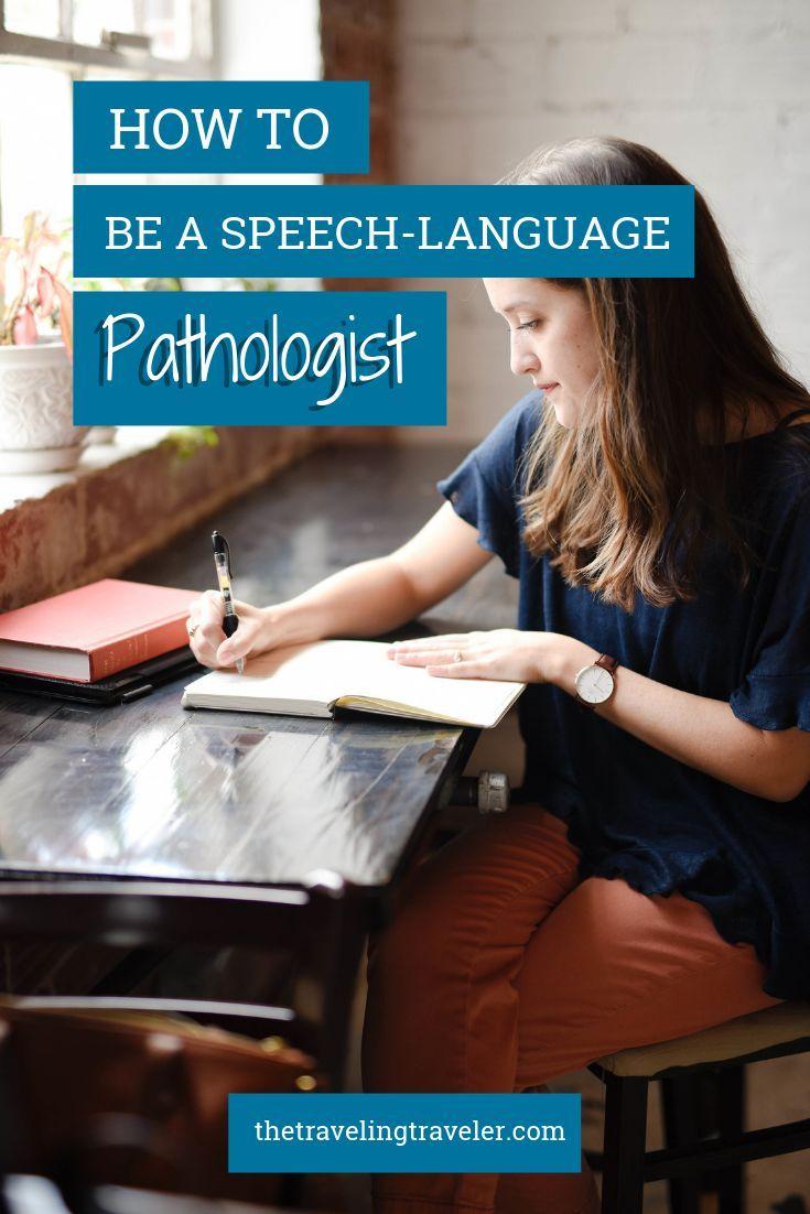 How to a speechlanguage pathologist the