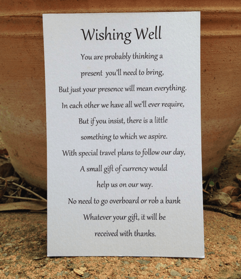 Wedding Wishing Well Invitations: Pin By Betty Smith On Wedding Ideas In 2019
