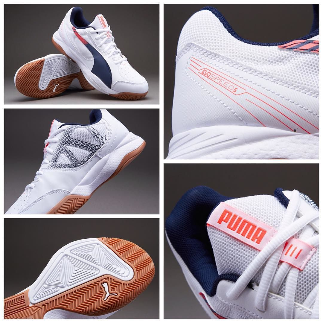 lower price with 211cf f99b0 Puma evoSPEED Futsal 5.3 - White-Peacoat-Bright Plasma قیمت  تومان حراج کد