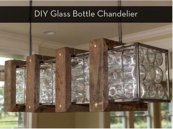 Make it i dare you diy glass bottle chandelier bottle make it i dare you diy glass bottle chandelier curbly diy design community aloadofball Gallery