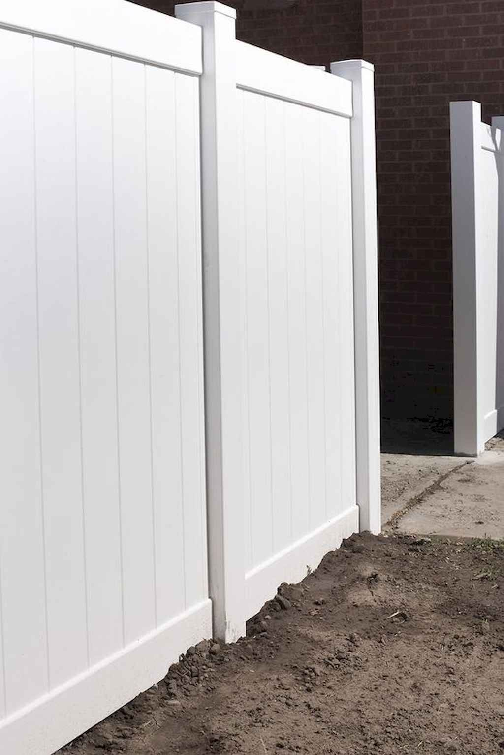 55 Easy And Cheap Privacy Fence Design Ideas Cheap Privacy Fence Vinyl Privacy Fence Fence Design