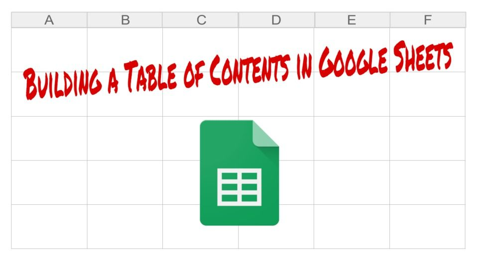 4 Of The Smartest Workarounds In Google Apps The Gooru Google Sheets Google Apps Build A Table