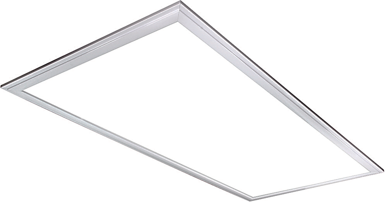 Product Description  2' x 4' LED Panel light is a replacement for traditional 4qty of 36 Watt fluorescent tubes included with 120W Driver combining 264W.    Consuming only 72 Watts of power while providing up to 6800 lumens.  LED Panel contains no mercury and is in a