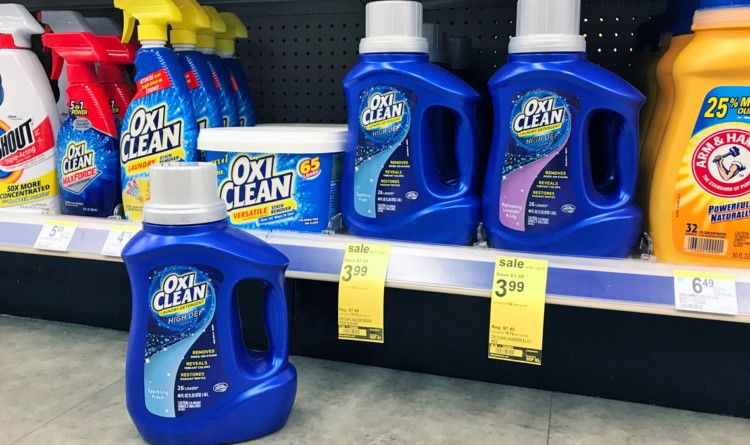 Oxiclean Laundry Detergent Only 1 99 At Walgreens Laundry