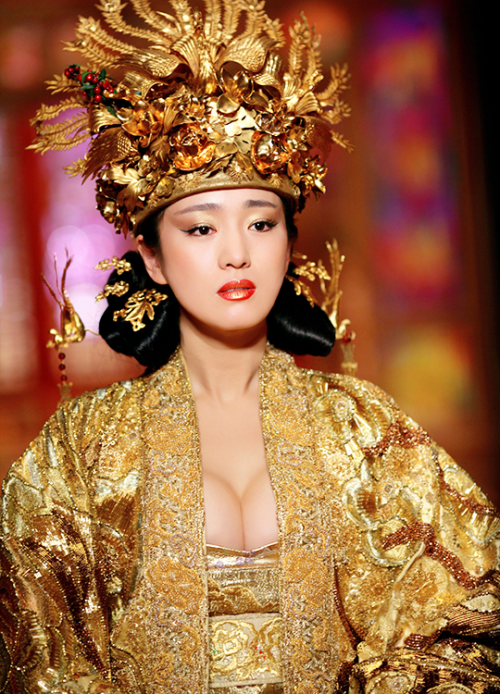 Gong Li in 'Curse of the Golden Flower' (2006). Gong li