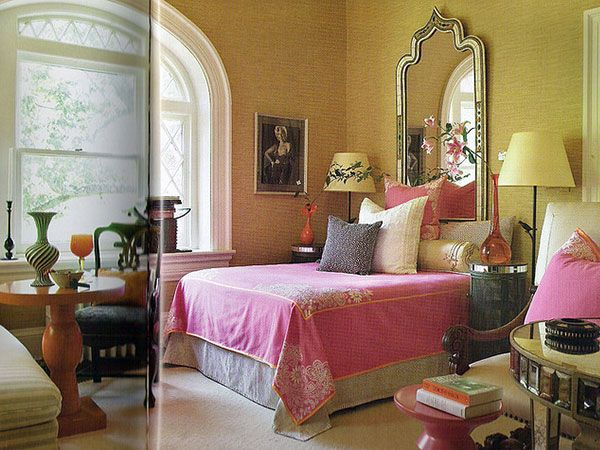 cute+bedroom+ideas+for+women pink bedroom 25 Great Bedroom Ideas - Orange Bedrooms