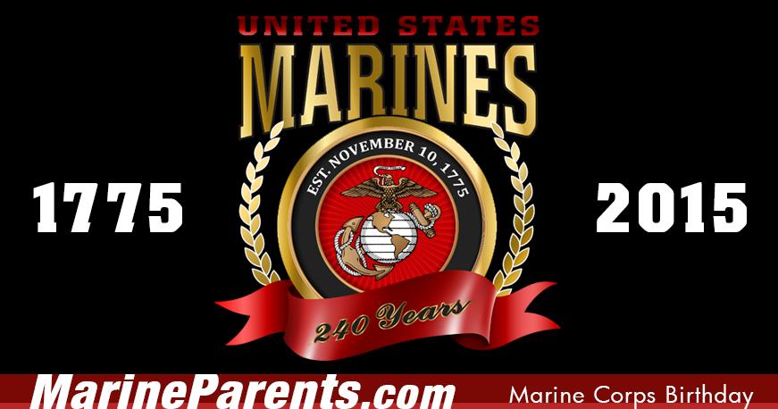 November 10 is the Marine Corps Birthday! Marine corps
