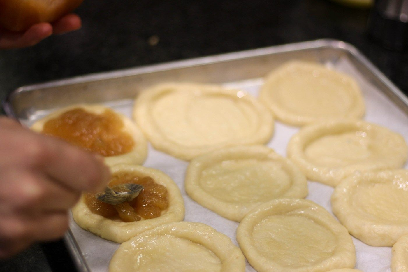 Dallas cooking classes a kolache pastry recipe cassidy