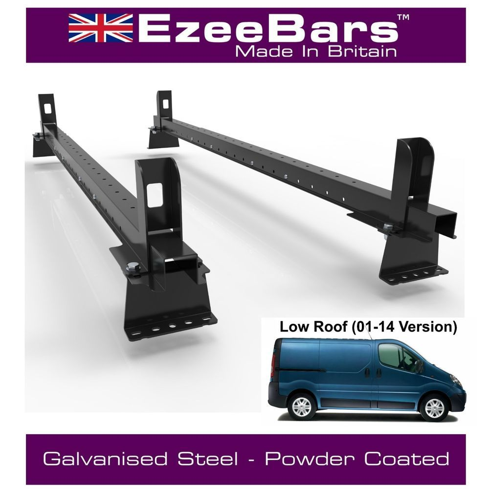 Details about Renault Trafic EasyBars Strong Roof Rack 2