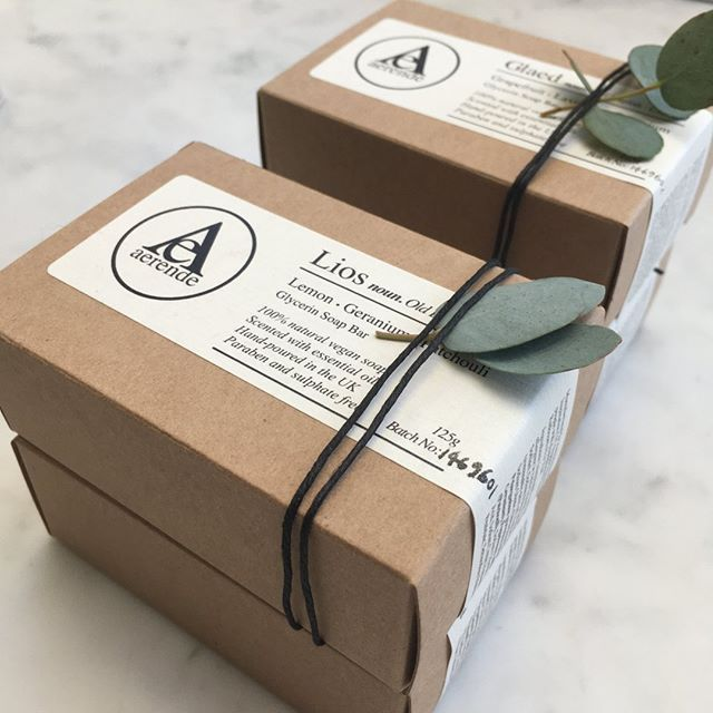 """Charlotte: Ethical Branding on Instagram: """"I've loved working with @aerende on their packaging"""