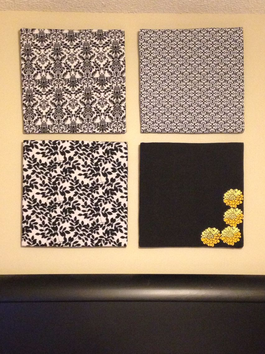 """DIY Wall Art Made from 1"""" thick foam board insulation"""