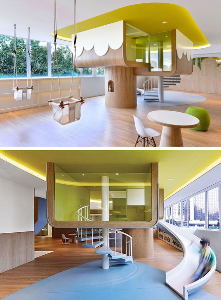 Spring Learning Center Architecture In Hong Kong_ Joey Ho Design Ideas
