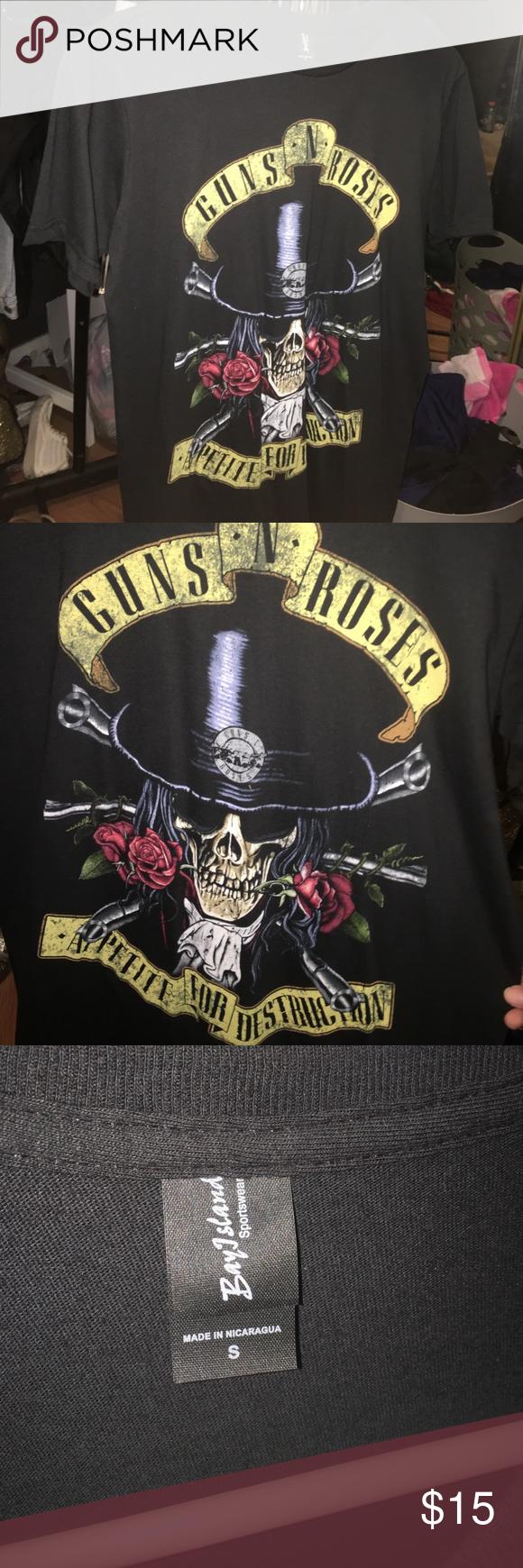 d379730c9268 Guns N Roses T Shirt Womens Target