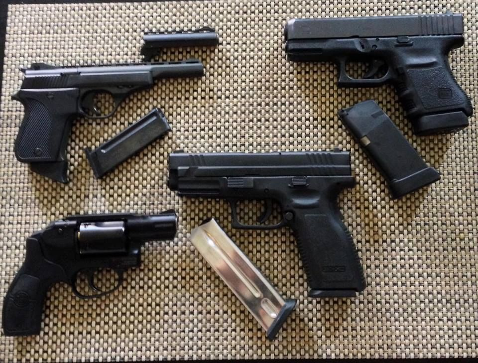 what is best pistol for home defense