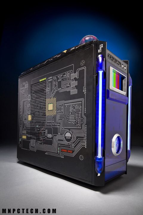 Dr Who Case Mod For Rosewill Computer H R Gehause