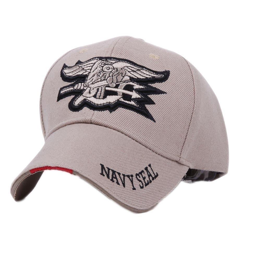 fbf99a7e2c8 6.61AUD - Us Navy Seals Trident Seal Military Baseball Ball Cap Golf Shade  Hat Hot  ebay  Fashion