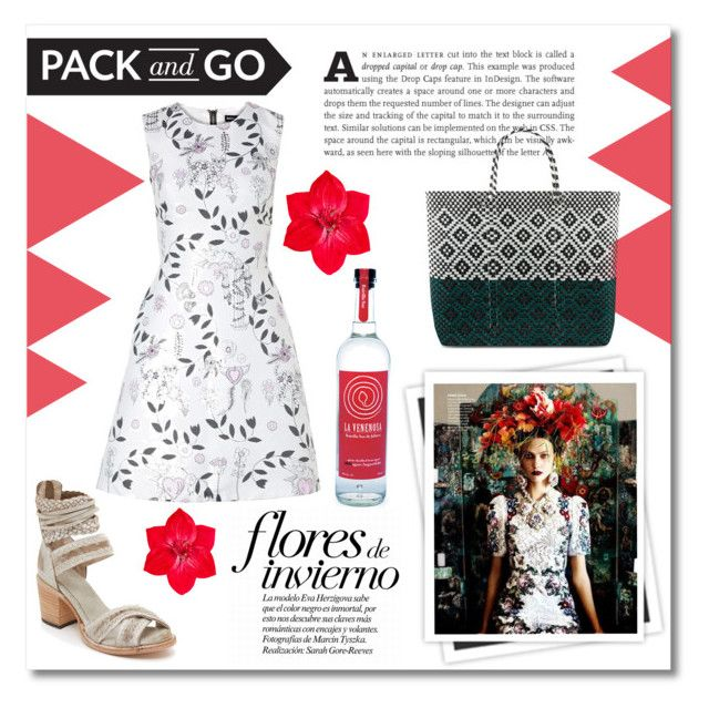 """Pack and Go: Mexico City"" by maki007 ❤ liked on Polyvore featuring Steven by Steve Madden, GALA, Accessorize, Markus Lupfer, TRUSS, polyvorecontest and Packandgo"