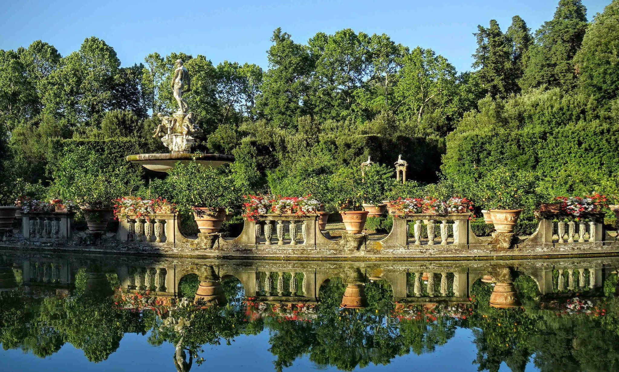 Isolotto Boboli Garden Florence Florence Tours Boboli