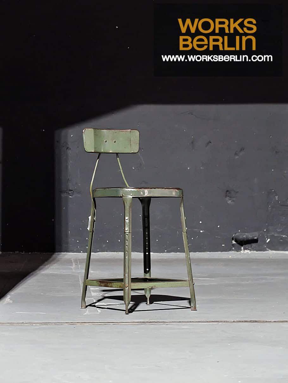 industriemöbel, industrie design möbel, fabrikstuhl, vintage