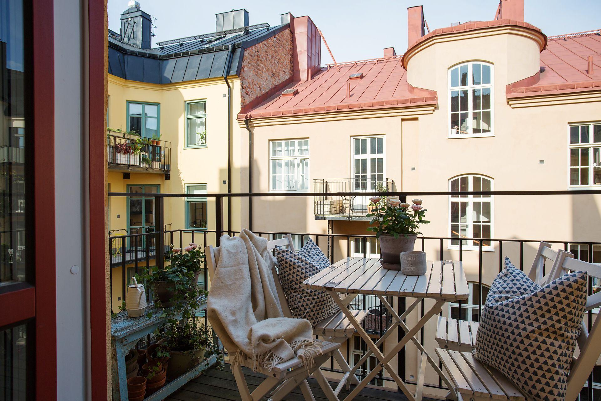 Birkagatan 21 B, 4 tr - Stockholm - ESNY | Balcony, Patio, Terrace ...