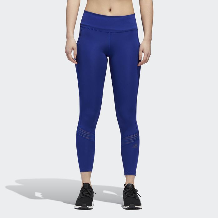 adidas Believe This RR Womens 7//8 Running Tights Purple