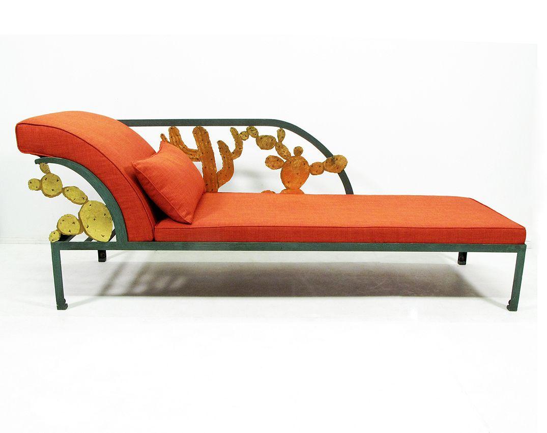 Hilton Mc Connico Cactus Orange Chaise Longue Vinterior London Orange Chaise Chaise Chaise Longue