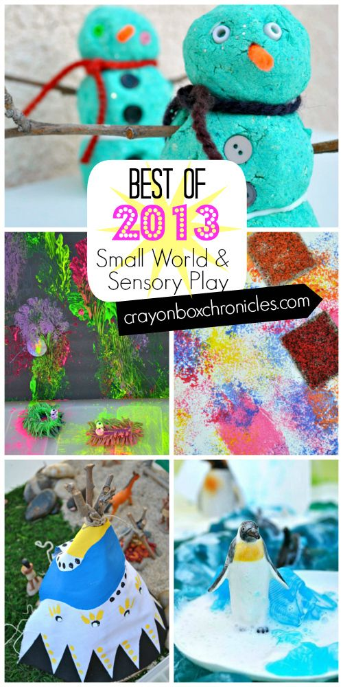 Best Of 2013 Small World & Sensory Play Activities from Crayon Box Chronicles