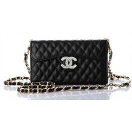 a0eebfc052f4 Coque Housse Etui marque de Chanel pour iphone 6 5 4 Samsung S5 Note  2 3 4en cuir sous forme d un sac à chaîne achat sur jeuxicle.fr