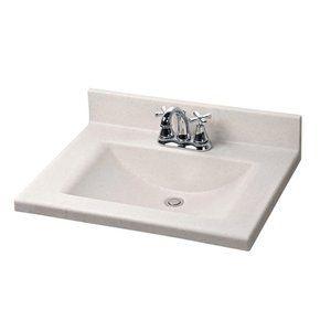 Crane Faucet 31 X 22 Silkstone Rectangular Bowl Vanity Top Cultured Marble Vanity Top Vanity Top Lake House Bathroom