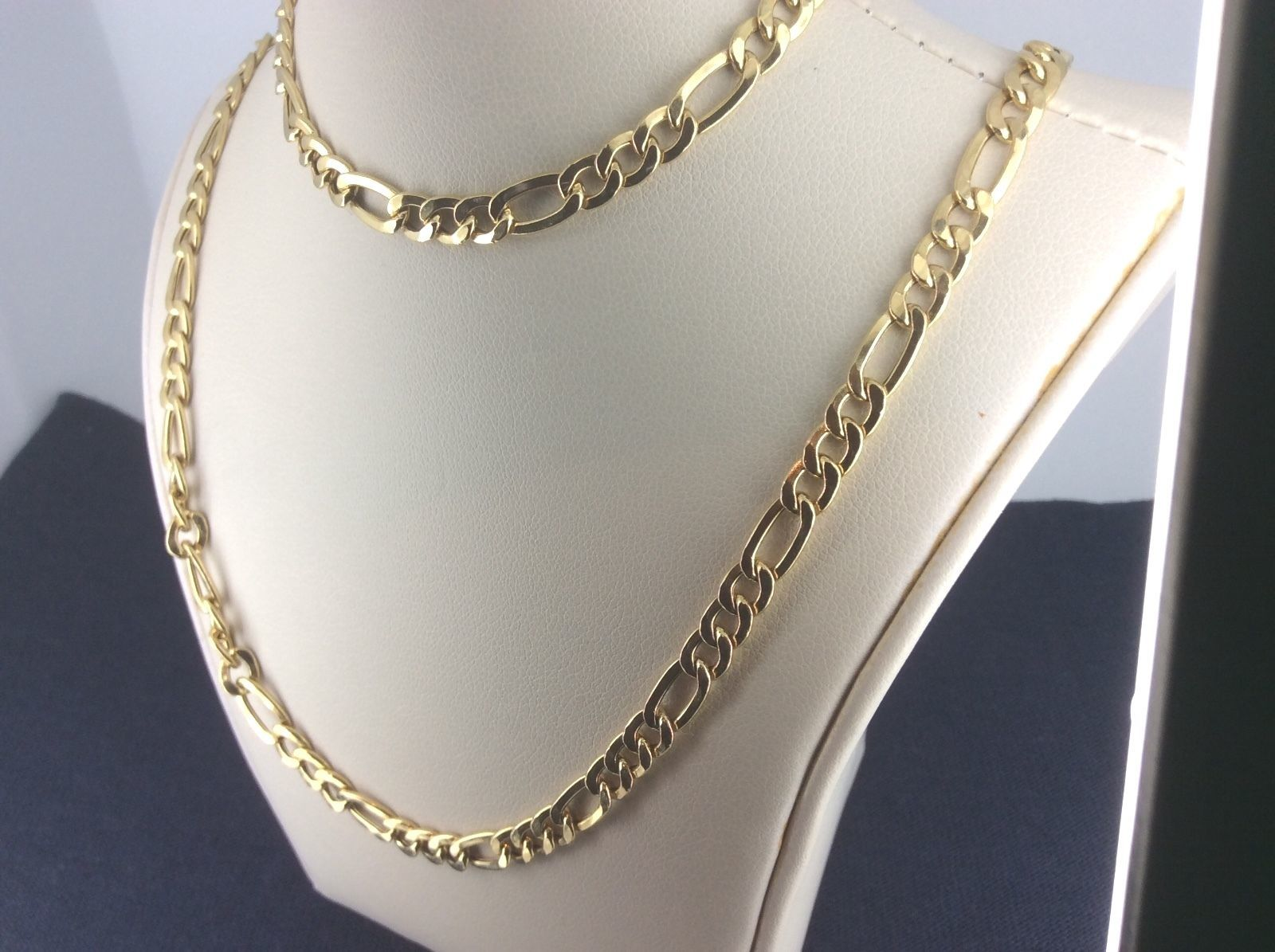 d00f573d6a6c 14kt Yellow Gold Figaro Chain 2.5 mm Width 18.0 Inch Long (4.1 Grams) by  RG D