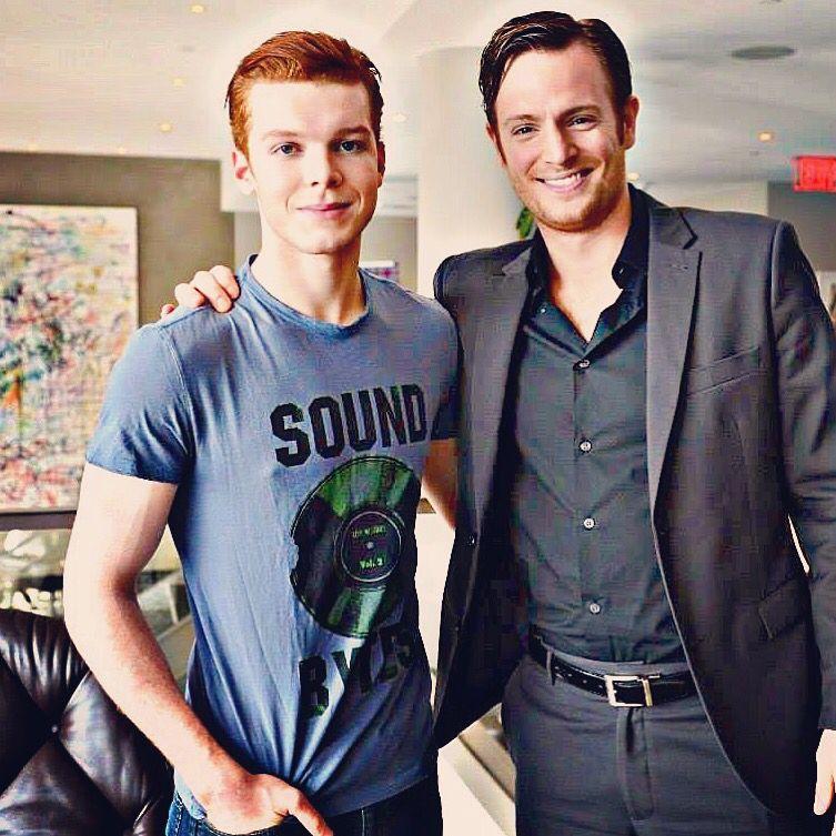Photo of Cameron Monaghan  & his  Father  Cameron Monaghan